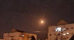 قنابل مضيئة معادية فوق القرى الحدودية مع لبنان
