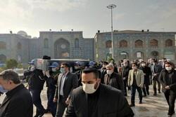 مراسم تشییع حجت الاسلام«شهیدی محلاتی» در ری برگزار شد