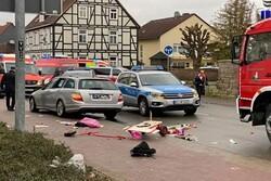 قتيلان وإصابة عشرة آخرين على الأقل في حادث دهس في المانيا