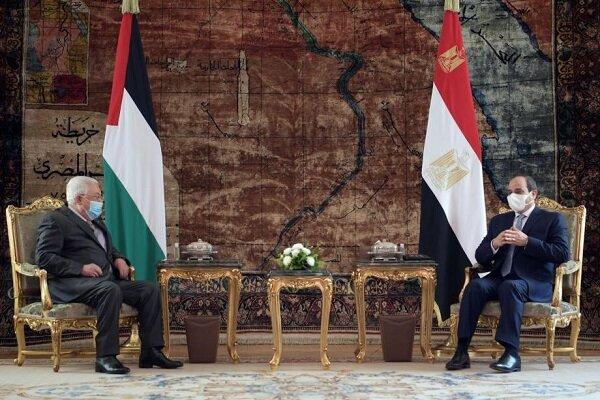 موضع مصر حمایت از فلسطین است