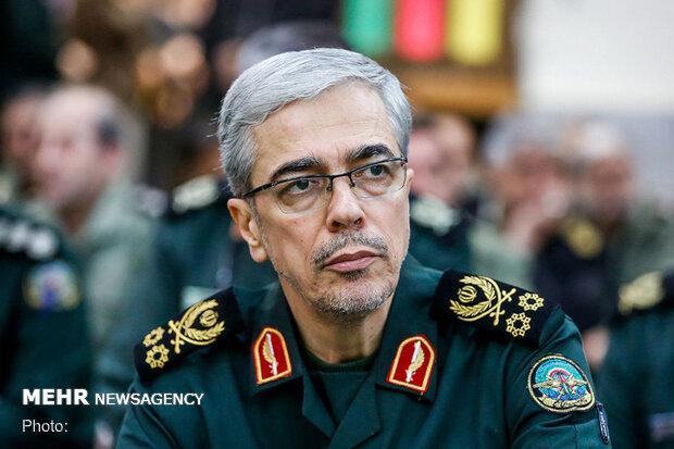ایران کی مسلح افواج کے چیف آف اسٹاف میجر جنرل باقری پاکستان پہنچ گئے