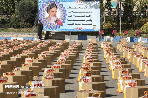 سومین مرحله از رزمایش همدلی مومنانه در ستاد فرماندهی انتظامی تهران بزرگ
