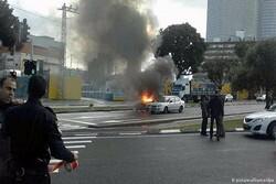 انفجار سيارة يهز عاصمة كيان الاحتلال الصهيوني