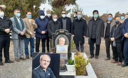 حضور قهرمانان کشتی در مراسم سالگرد درگذشت زنده یاد موسوی