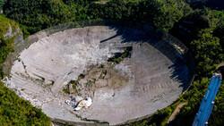 یک تلسکوپ رادیویی آمریکایی در پورتوریکو سقوط کرد