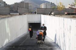 اتمام عملیات احداث زیرگذر بزرگراه شهید نجفی رستگار در منطقه ۱۵