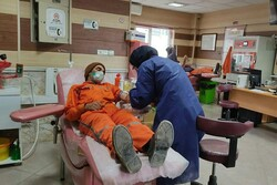 پاکبانان بجنوردی با اهدای خون به بیماران نیازمند جان دوباره دادند