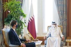 راز سفر «جرد کوشنر» به قطر و عربستان/ آشتی رخ داده است؟