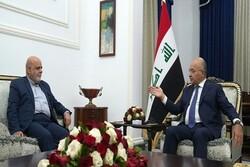 الرئيس العراقي يدين اغتيال العالم الإيراني محسن فخري زاده