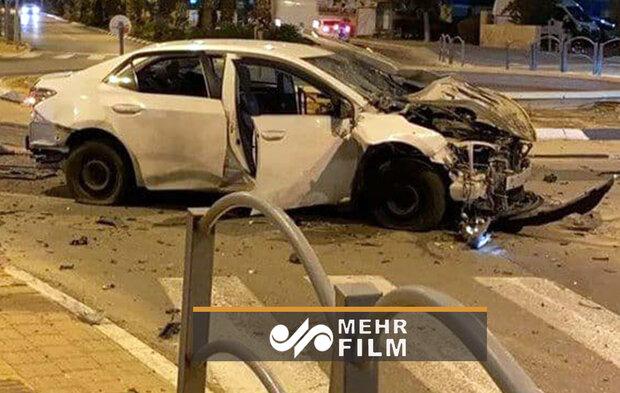 انفجار یک خودرو در جنوب تلآویو