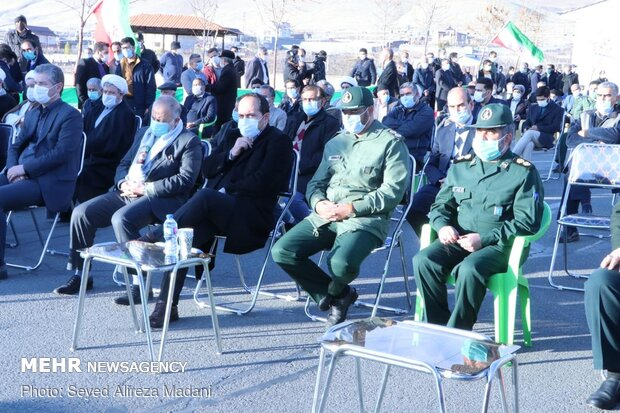 Commemoration ceremony of martyr 'Fakhrizadeh' held in Absard
