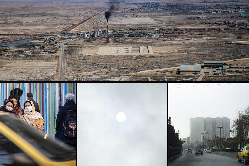 اهواز،نيشكر،خوزستان،سايت،شهرداري،آلودگي،اشاره،زباله،دود،ارائ ...