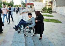 ضعف مناسب سازی تردد معلولین در استان/ دلهره ساعتی در خیابان