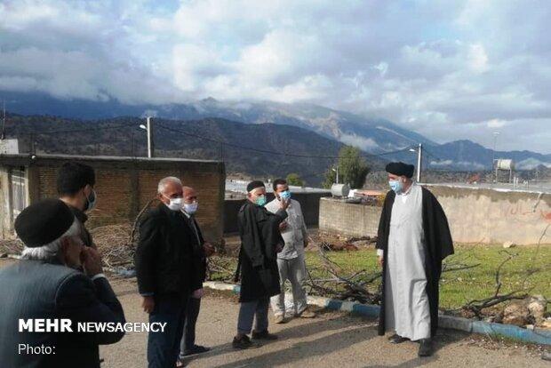 نماینده ولیفقیه در خوزستان در روستاهای دهدز حضور یافت
