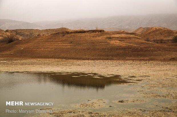 خشک شدن سد عبدل آباد بجنورد