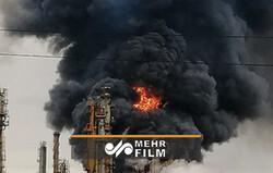 انفجار در پالایشگاه نفت دوربان آفریقای جنوبی