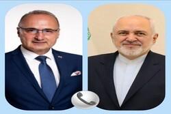 Iranian, Croatian FMs discuss bilateral ties, JCPOA