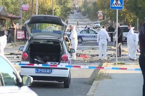 One dead, two injured as blast hits central Belgrade