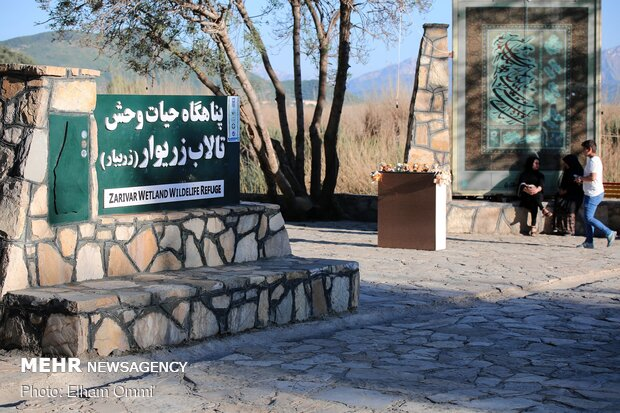 Zarivar Freshwater Wetland in Kurdistan province