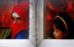 """نقل 1600 لاجئ من مسلمي الروهينغا إلى """"جزيرة الكوارث""""/ بالصور"""