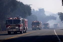 کالیفرنیا دوباره در آتش سوخت