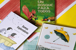 ترجمه سهعنوان از کتابهای طوطی در اسپانیا چاپ شد