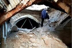 یک ساباط تاریخی در دزفول ریزش کرد