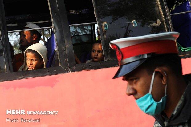 Arakanlı müslümanlar hayatlarını tehdit eden bir adaya sürgün edildiler