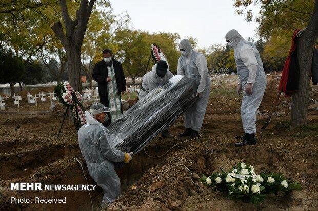 قربانیان کرونا در جهان