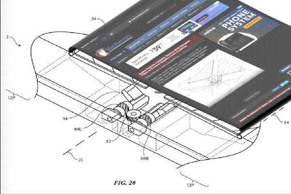 اپل برای گوشیهای تاشو لولای جدید اختراع کرد