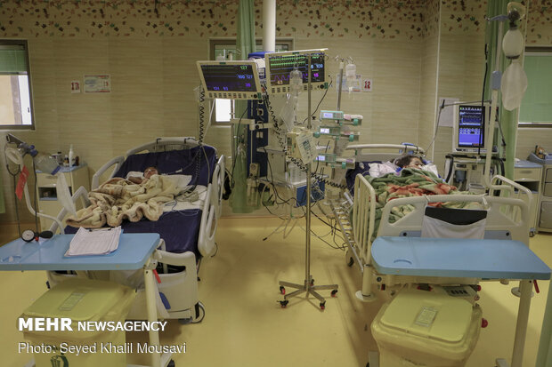 بخش کودکان مبتلا به کووید ۱۹ - اهواز