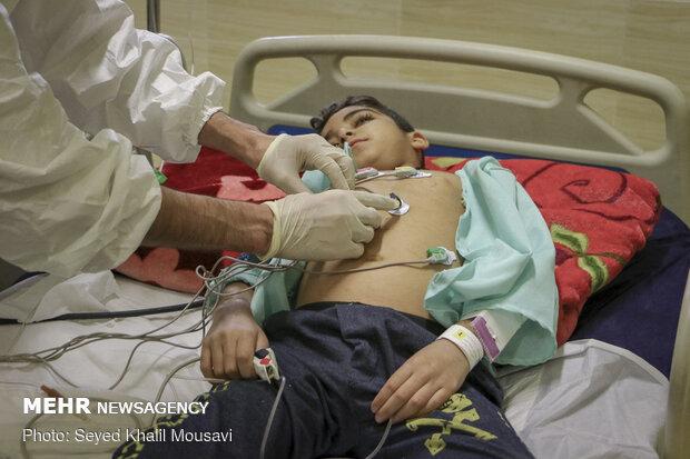 مراجعه بیش از ۲۰۰ کودک اردبیلی با علایم کرونا به بیمارستانها