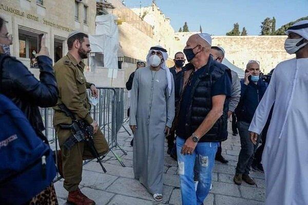 إماراتيون يتجولون في القدس المحتلة + صور