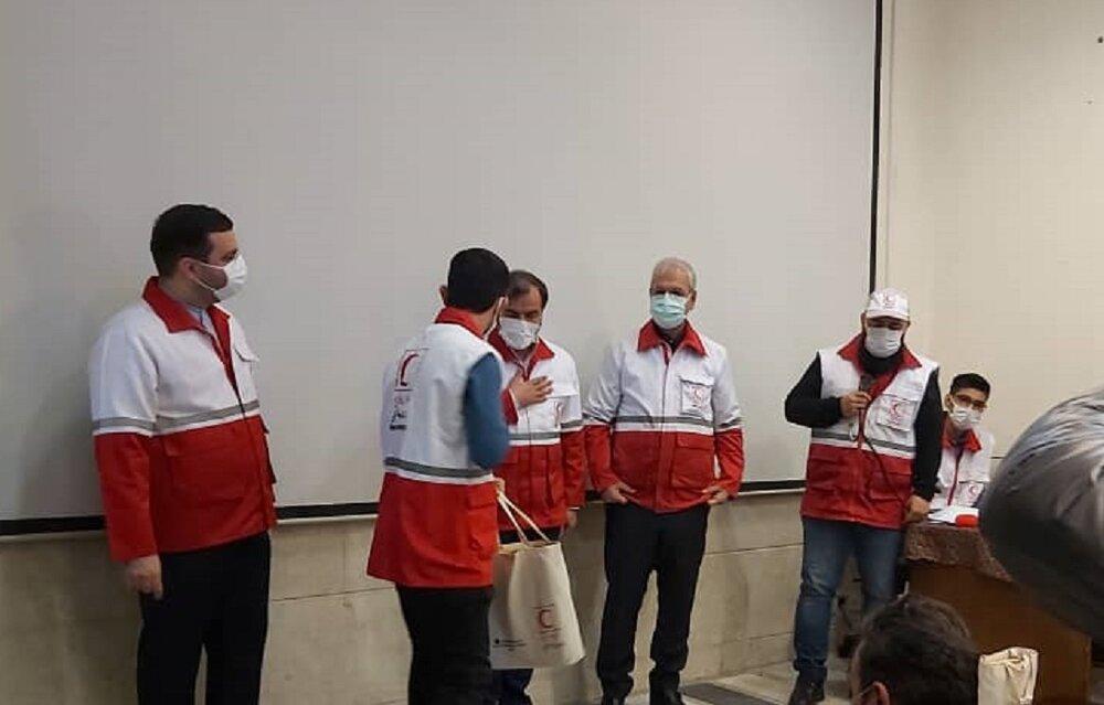 بازدید سخنگوی دولت از خانه هلال هرندی همزمان با روز جهانی داوطلب