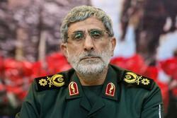 فرمانده نیروی قدس سپاه درگذشت سردار «حق بین» را تسلیت گفت