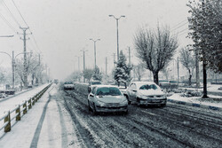 بارش برف و تگرگ در البرز/ احتمال خسارت به محصولات کشاورزی