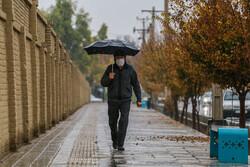 پیش بینی بارش های رگباری باران در چهارمحال و بختیاری