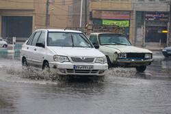 محور اصفهان – نائین بارانی است