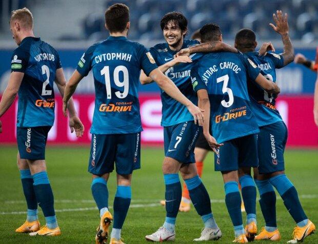 İranlı oyuncu hat-trick yaptı, Zenit şampiyon oldu