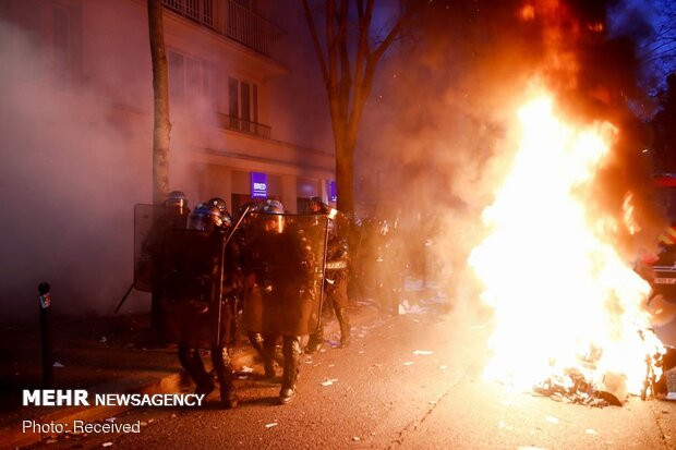 Fransa'da 'polis güvenlik yasası'na karşı protestolar sürüyor