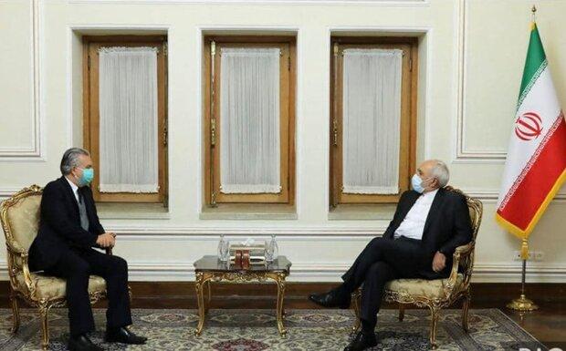 Zarif meets with departing Brazilian ambassador