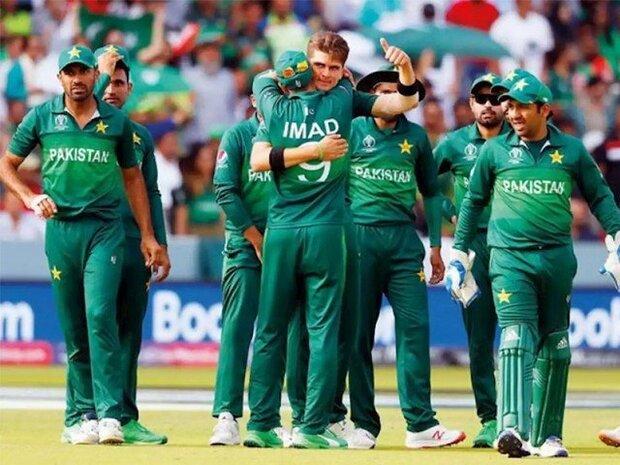 پاکستان کرکٹ ٹیم ترنگا پہنچ گئی