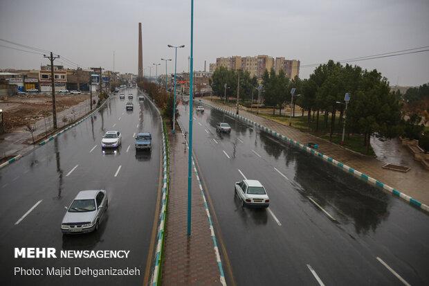 جریانهای همرفتی بارشی همچنان در اصفهان فعال است