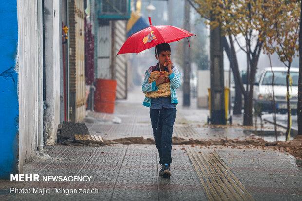 پیش بینی بارش باران برای ۱۷ استان در روز طبیعت/ کاهش دما در مرکز