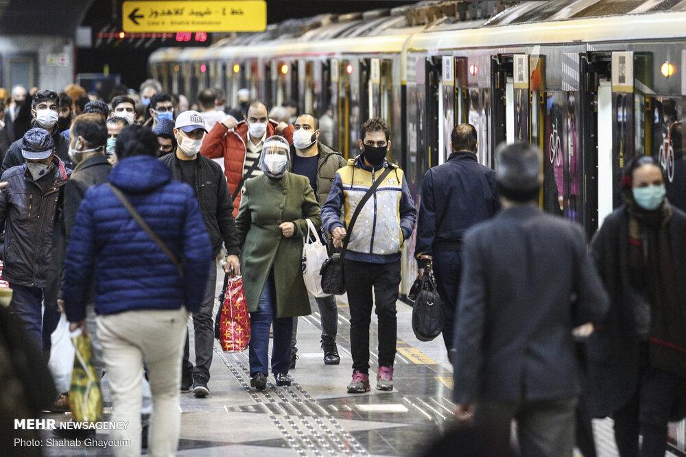 بهره برداری رسمی از دو ایستگاه متروی تهران با حضور رئیس جمهور