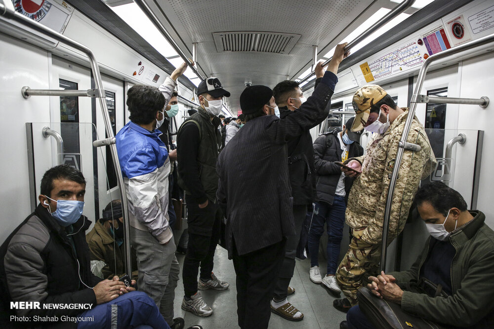 رشد ده درصدی مسافران مترو در روزهای اخیر