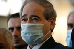 شام کے وزیر خارجہ تہران پہنچ گئے