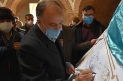 تمبر یادبود روز فرهنگی هشتگرد رونمایی شد