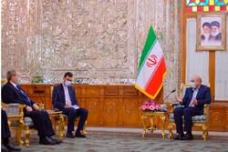 ایرانی اسپیکرقالیباف سے شام کے وزیر خارجہ کی ملاقات