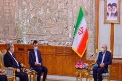 Syrain FM holds talks with Ghalibaf